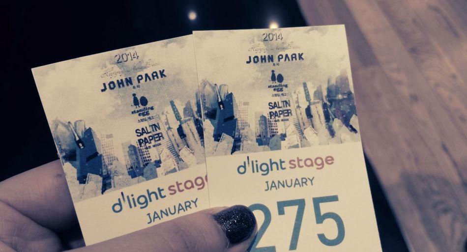 tonight 6pm :) music concert at dlight stage Standdingegg Egg John Park