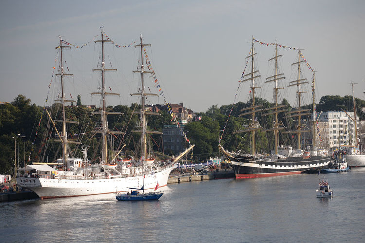 Harbor Odra Poland Segeln Szczecin Tall Ship Transportation Boat Day Harbor Mast Mode Of Transport Moored Nautical Vessel Polen River Sailing Boat Ship Stettin Tall Ship Transportation Water Yacht
