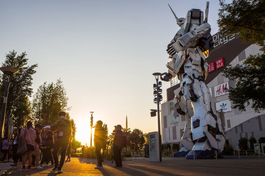 UNICON GUNDAM SCALE 1:1 model of RX-0 Mobile Suit statue at Diver City, ODAIBA ,Tokyo, Japan OCTOBER 2017 Diver City Diver City Tokyo Gundam Mobile Suit RX-0 Tokyo Unicon Gundam Odaiba Odaiba Tokyo EyeEmNewHere