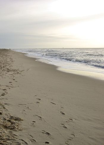 sublime beach scenery in autumn on sylt Autumn Dreaming Sublime Sunlight Beach Beauty In Nature Environment Horizon Horizon Over Water Nature No People Northsea Outdoors Pale Rantum Sand Scenics Sea Shore Sky Sylt Tranquil Scene Tranquility Water Wave The Week On EyeEm