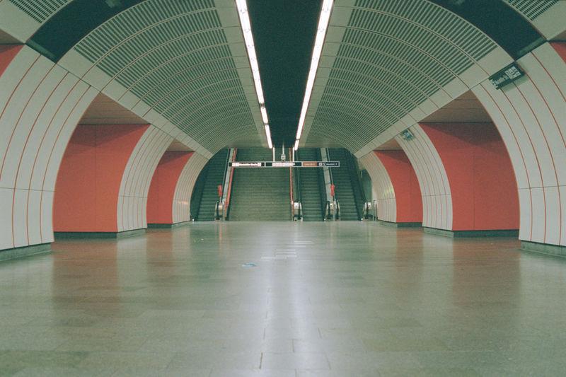 U3 westbahnhof during lockdown