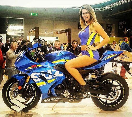 Eicma2015 Brand new GSXR1000 : what a beauty! Suzuki Exposition Milano Bikeworld Motorcyclelife Loveit