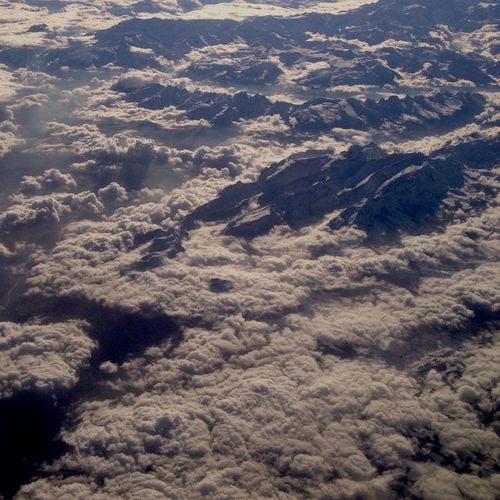 Airplane Sky Aerial View Beauty In Nature Awe Tranquility Nature Scenics Tranquil Scene No People Landscape Outdoors Heaven Day The Natural World Backgrounds