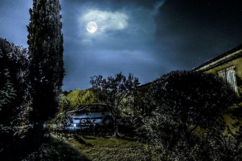 Toulon LaFarlède PLEINELUNE Ciel Nuit Var Fujifilm X-m1