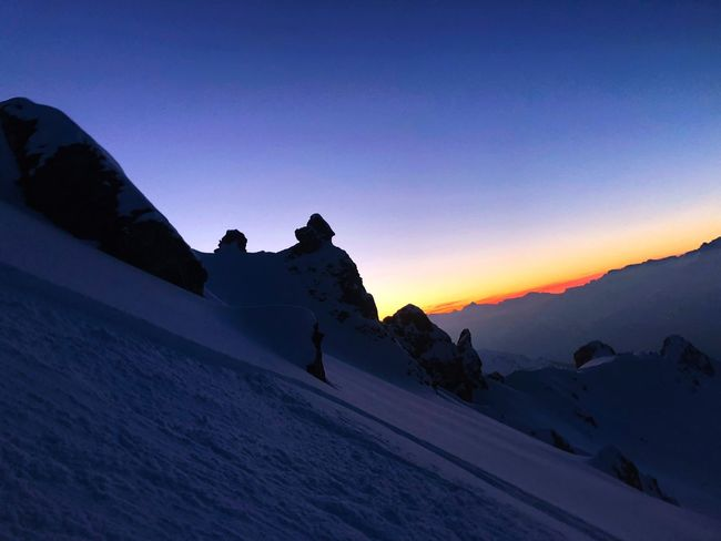 Alps Mountain Snow NatureIsBeautiful Sunset Swiss Alps Valais Valdanniviers Grimentz Zinal Grimentz Go Higher The Great Outdoors - 2018 EyeEm Awards