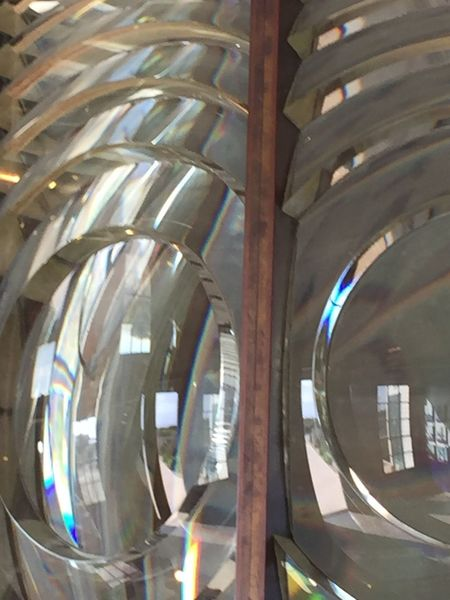Fractured Light Fresnel Glass Fresnel Lens Full Spectrum Lighthouse At Sundown Lighthouse Lens Multi Colored Rainbow Colors