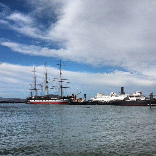Sanfran SanFranciscoBay Boatsnhoes Fishermanswharf vacation