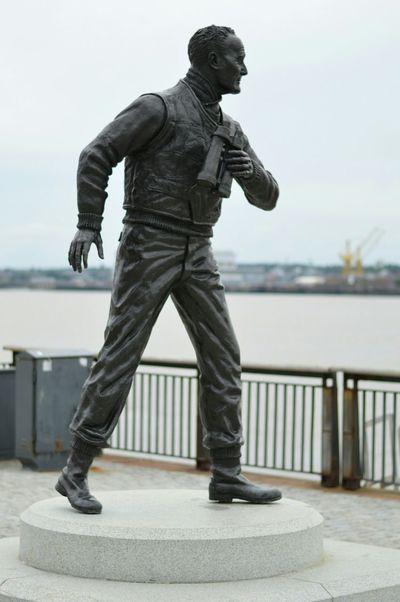 Captain Johnnie Walker City Cityscape Sea Liverpool Royal Navy Navy Statue Still Life Photography