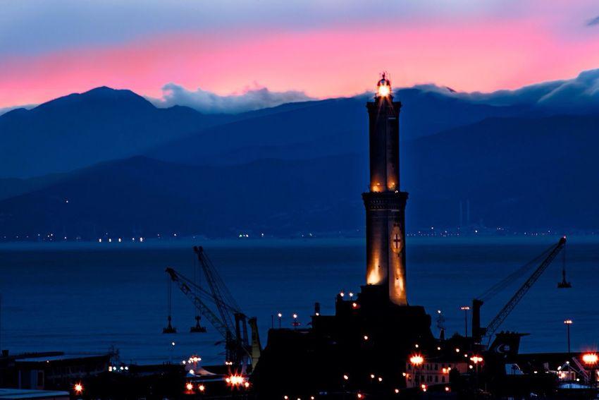 La Lanterna Lanterna Genova Landscape Panorama