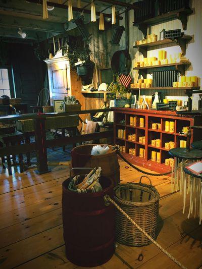 Yankee Candle Village Museum Massachusetts