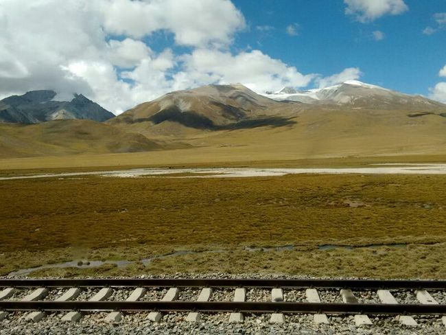 On The Way Mountain View Mountainview Enjoying Life Enjoying Nature Railway Mountain From The Train Human Und Nature Go To Tibet Naturelovers Nature_collection Natural Beauty Naturallife Moment Lens Perfect Moment Taking Photos Nature Photography Captured Moment Tibet China Mobile Photography Nature's Diversities On The Way