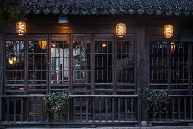 Architecture Built Structure Building Exterior Illuminated Building Lighting Equipment Roof No People City History Travel Destinations Travel Architectural Column Outdoors Night House Window The Past Nature Tree