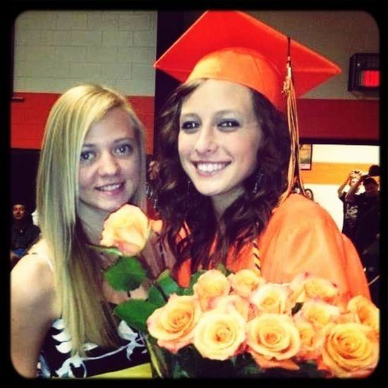 Graduation 2012 with muh sistaa