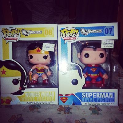 And wonder woman n superman too ! @chuakhoonhoong love love love !!! Gonna grab more of those cuties figurines !