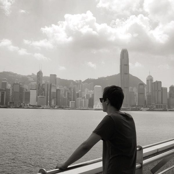 Explore Adventure Traveling Travel HongKong Skyline Highrise Urban Architecture Blackandwhite