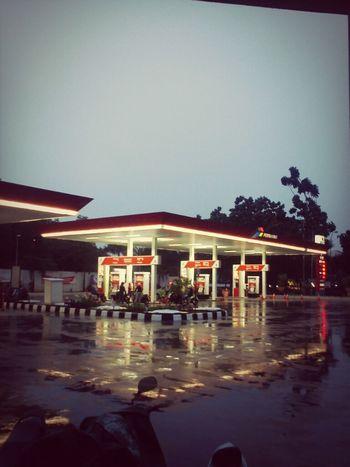 Station Of Gasoline