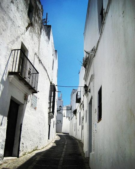 Oldphotos Streets of Vejer in 2013 Andalusia Andalucía SPAIN Pueblosblancos Architecture Spanish