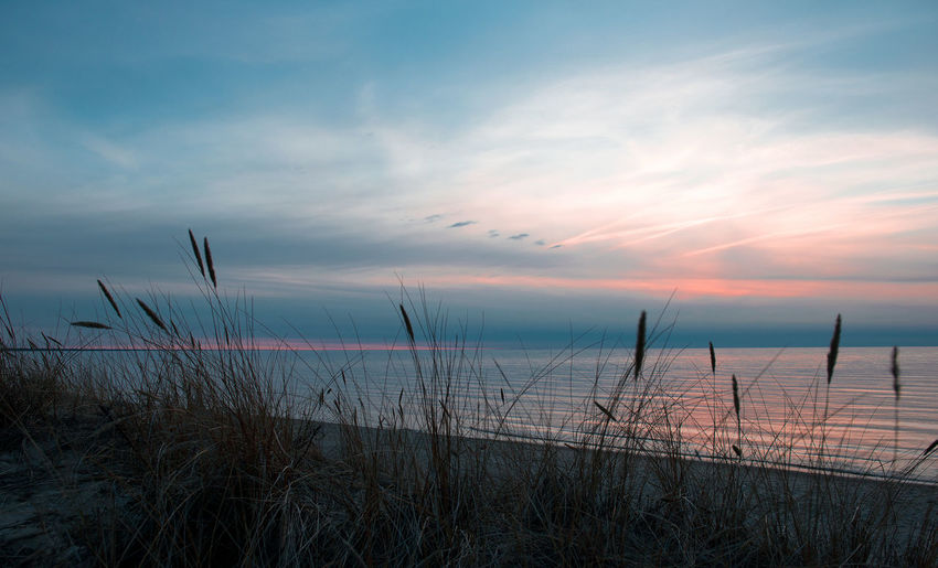 After Sunset Baltic Sea Bent Landscape Latvia Latvija Latvijasdaba Night Nightphotography No People Outdoors Reflection Rock Jetty Romantic Sky Sea And Sky Sunrise Sunrise_Collection Sunset Sunset_collection Wiewing The Sea...