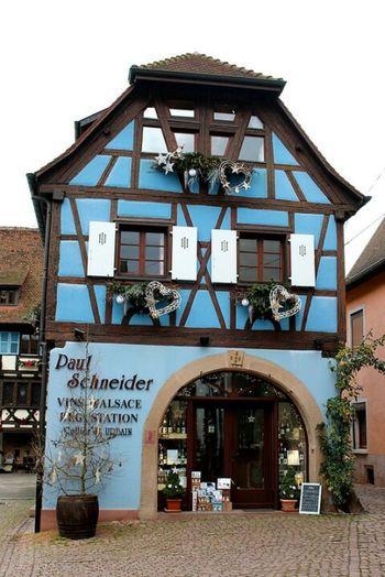 Eguisheim Alsace France Alsacia