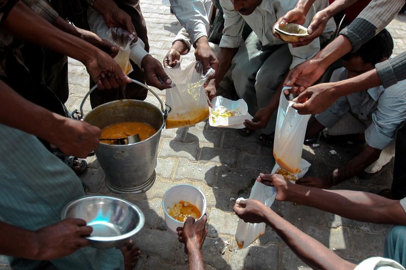 let us join hands in providing comfort and food to those people in need, giving them hope and love. Telling Stories Differently