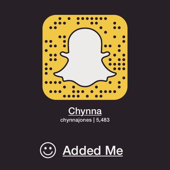 Go add me chynnajones 😊