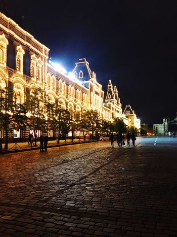 Cities At Night Moscow The Kremlin Light Night Lights Nightphotography Eye4photography  City View 43 Golden Moments View Of The City City Life Inspired Red Square ГУМ