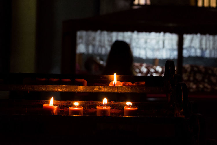 Flame Burning Candle Indoors  Heat - Temperature No People Day Close-up Diya - Oil Lamp Candles Faith Church EyeEm New Here Eyeem Philippines