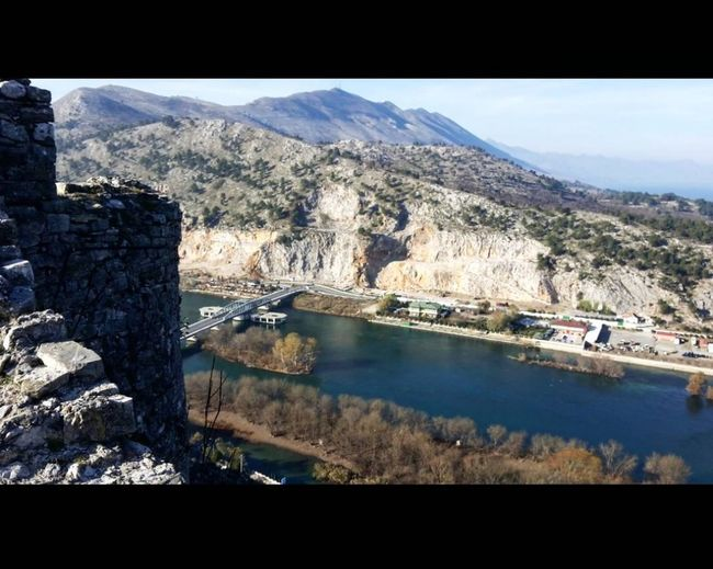 Cityscape Shkoder County Shkodra Lake Rozafa Castle Beauty In Nature Sky