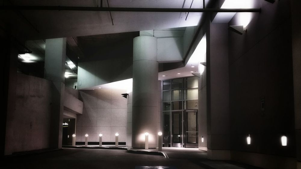 EyeEm Selects Architecture City Lights Night Car Garage houston City Life