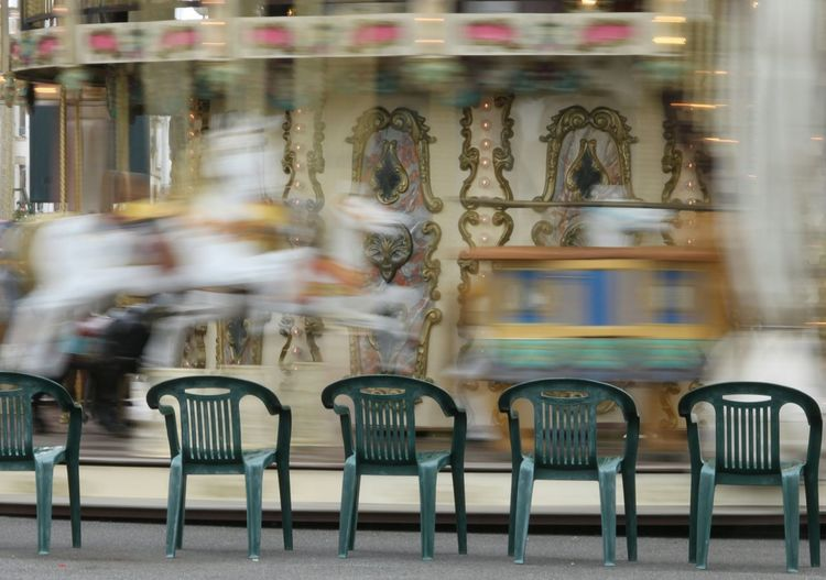 Ghost Riders Hobby Horse Carnival Carosel Horse Riding Fair Ride Motion Roundabout Fairground Colour Of Life Blurred Motion AltonTowers Blackpool Traveling Pet Portraits EyeEmNewHere Moving Around Rome