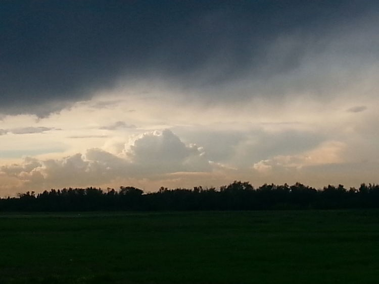 Stormy Sky After The Rain After The Storm Beauty In Nature Landscape_Collection Cloudy Sky Beautiful No People Spruce Grove, Alberta Samsung Galaxy S3