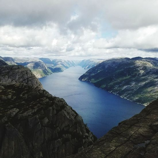 Landscape Travel Destinations Beauty In Nature Scenics Fjords Preikestolen Norway Outdoors Been There. Lost In The Landscape