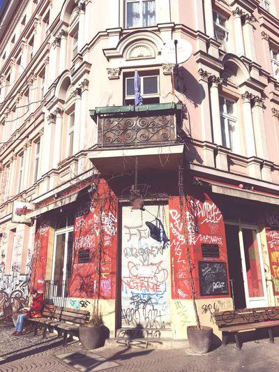 My Fuckin Berlin Springtime Outdoors Graffiti