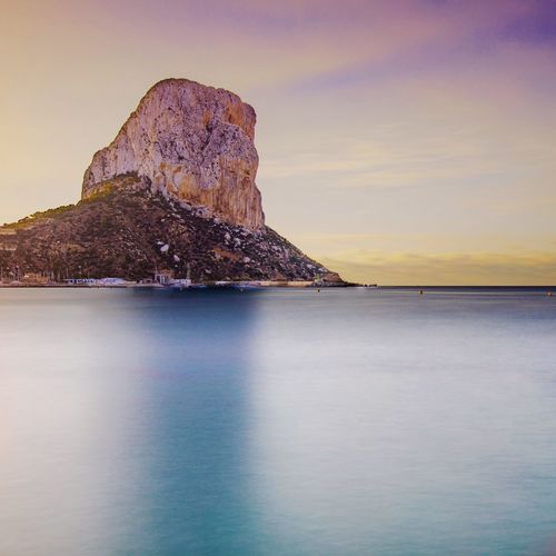 Peñon de ifach Peñon Ifach Calpe Calp SPAIN Quiet Moments Morning Morning Light Landscape Traveling Eye4photography  EyeEm Gallery Outdoors