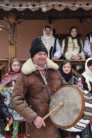 Arts Culture And Entertainment Winter Holiday Traditional Costume Traditional Culture Republic Of Moldova Happy People❤ Sweet😍