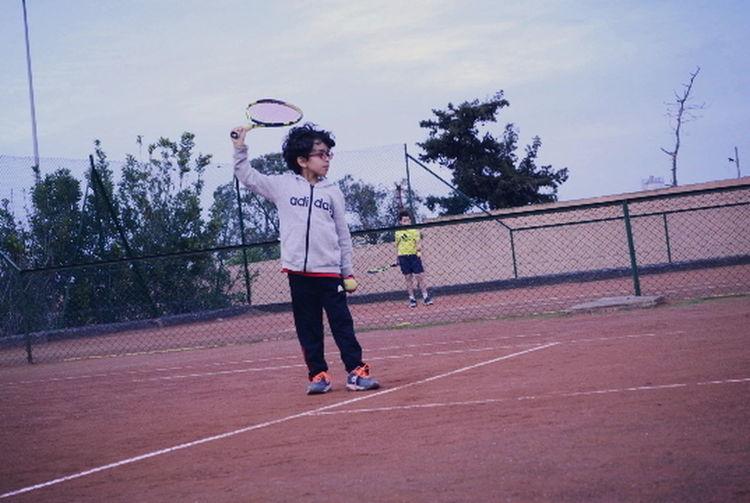 Tennis Tennis Ball Boy Boys Racket Sport Sports Tennessee Tennis Net Tennis 🎾