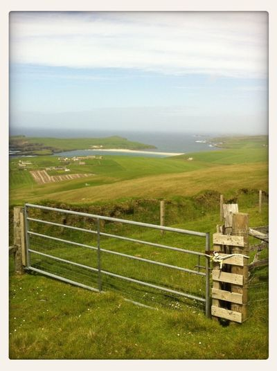 Another of yesterday's glorious Shetland landscapes. Landscape Taking Photos Enjoying The View Clouds And Sky