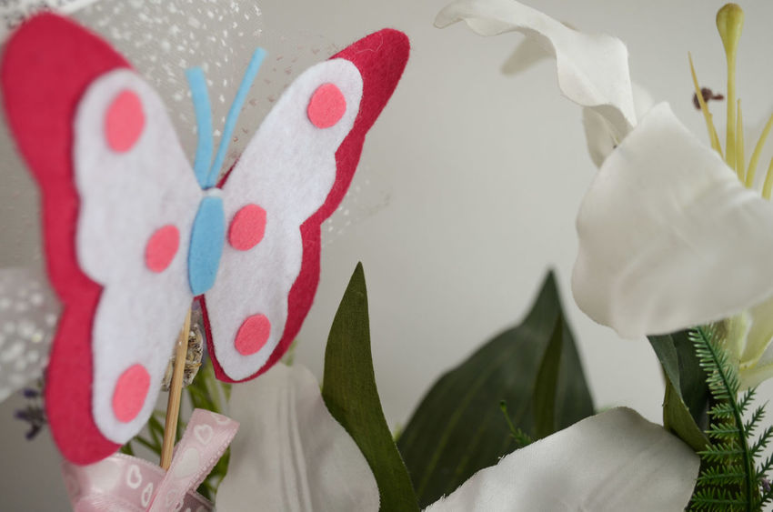 Arrangement Butterfly Choice Close-up Decor Decoration Decorations Decorative Flower Flowers Focus On Foreground Freshness Group Of Objects Home Indoors  Interior Interior Decorating Interior Design Multi Colored No People Ornament Plant Still Life Variation White