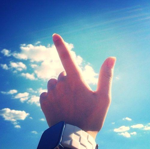 Blue Sky Good Mood :) Handsomely