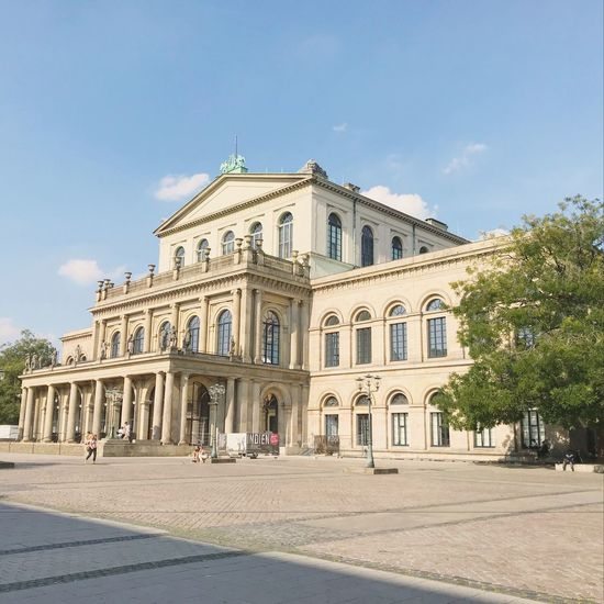 Staatsoper Hannover Architecture Built Structure Building Exterior Sky Façade Outdoors Day Tree City No People Majestic