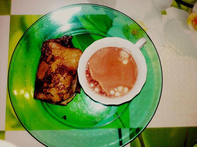 Food Breakfast Pankakes Cacao