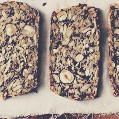 Made Myown Bread Glutenfree Coconutflour Chiaseeds Nuts Molasses Homebaked Organic