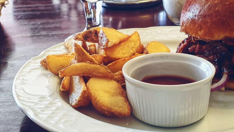 Plate Fast Food