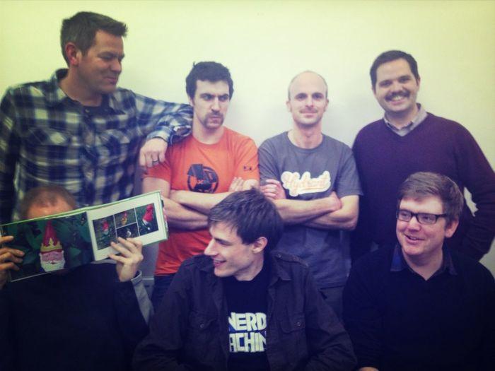 @teamhydrant #movember Group Photo