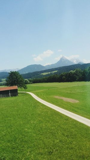 Austria Nature Green Greenfield Ontheroad Mountain Beautyofnature First Eyeem Photo