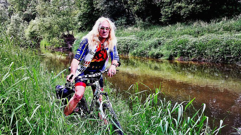 Biken an der Rems Remstal Mountainbike Nature Mann Earth Blond God