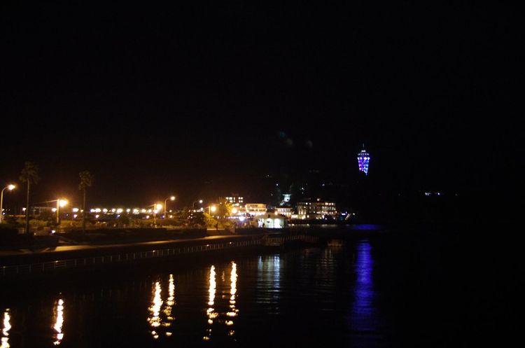 江の島 Night Sea Seacandle Japan Japan Photography