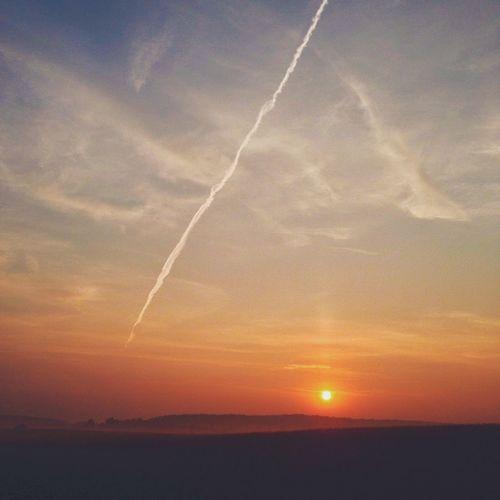Just a sunrise. Nature Landscape IPSSpace