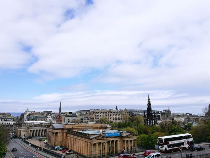 Edinburgh. Sunlight Freshness Outdoors Day Travel City Arts Culture And Entertainment Journey Ancient Civilization Building Exterior Destination Architecture Built Structure Travel Destinations History