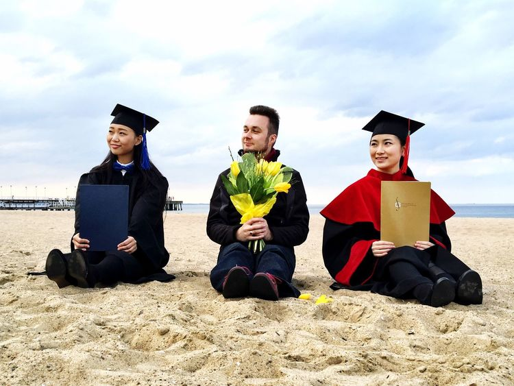 Master vs PhD PhD Student's Life Phd Master Sopot Sopotbeach Gdynia Gdansk Poland Beach Beachphotography Chinese Girl Polishboy  Friends Musicians Graduation Beautiful Smart Doctor  Doctors